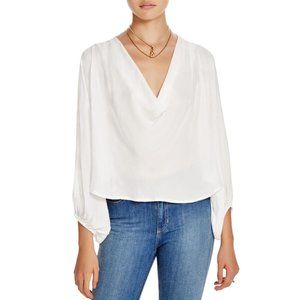 FREE PEOPLE Cowling Around Top in Ivory - S